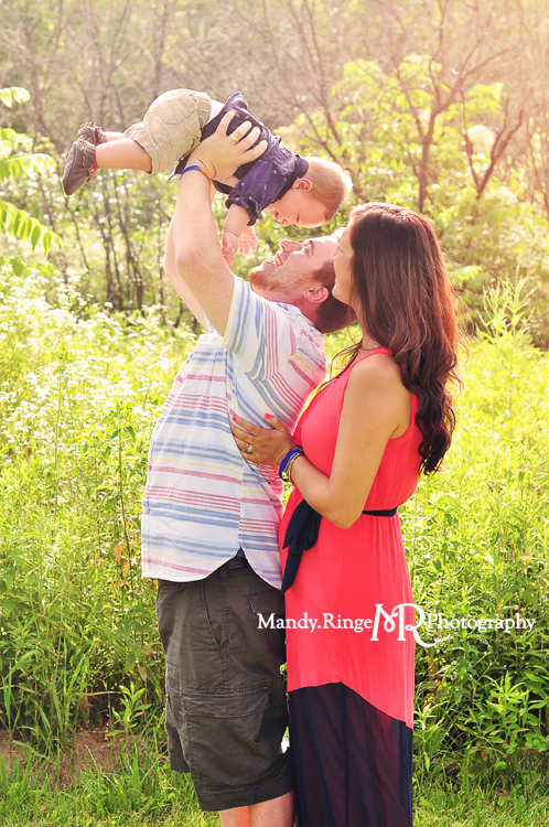 Family Portraits // Summer prairie // Leroy Oakes - St. Charles, IL // by Mandy Ringe Photography