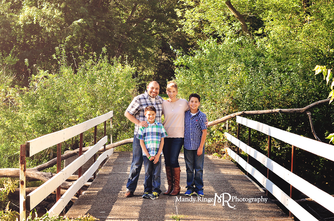 End of Summer mini sessions // outdoors, prairie path, creek // Leroy Oakes Forest Preserve - St. Charles, IL // by Mandy Ringe Photography