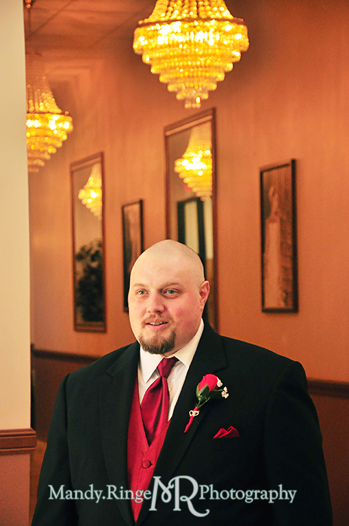 Groomsman // Wedding Photography // Lincoln Inn Banquets - Batavia, IL // by Mandy Ringe Photography