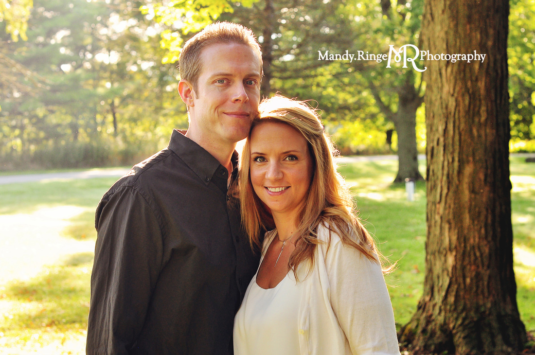 Family portraits // Leroy Oakes Forest Preserve - St. Charles, IL // by Mandy Ringe Photography