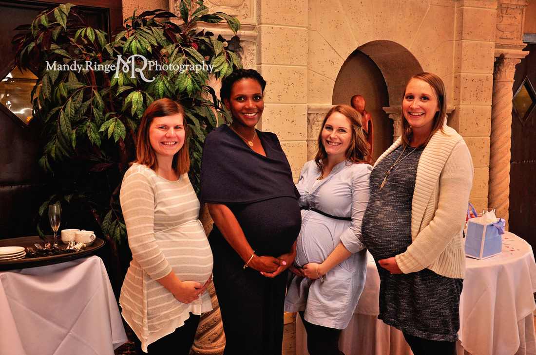 St. Charles, Batavia, Geneva, Wheaton, IL Family, Child, Baby, and Maternity Photographer: Baby Shower at Hotel Baker by Mandy Ringe Photography