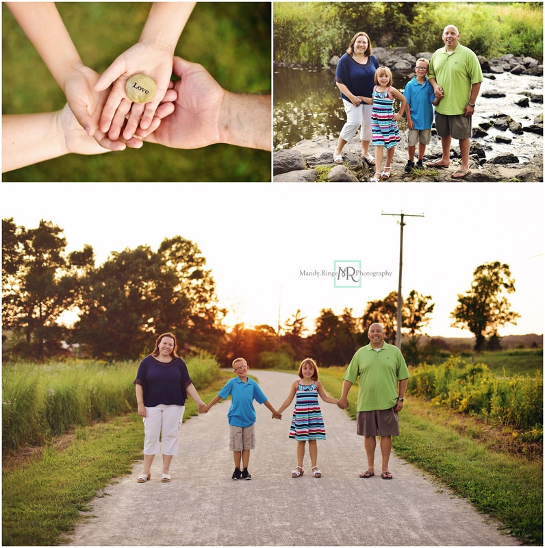 Summer family portraits // Leroy Oakes - St. Charles, IL // by Mandy Ringe Photography