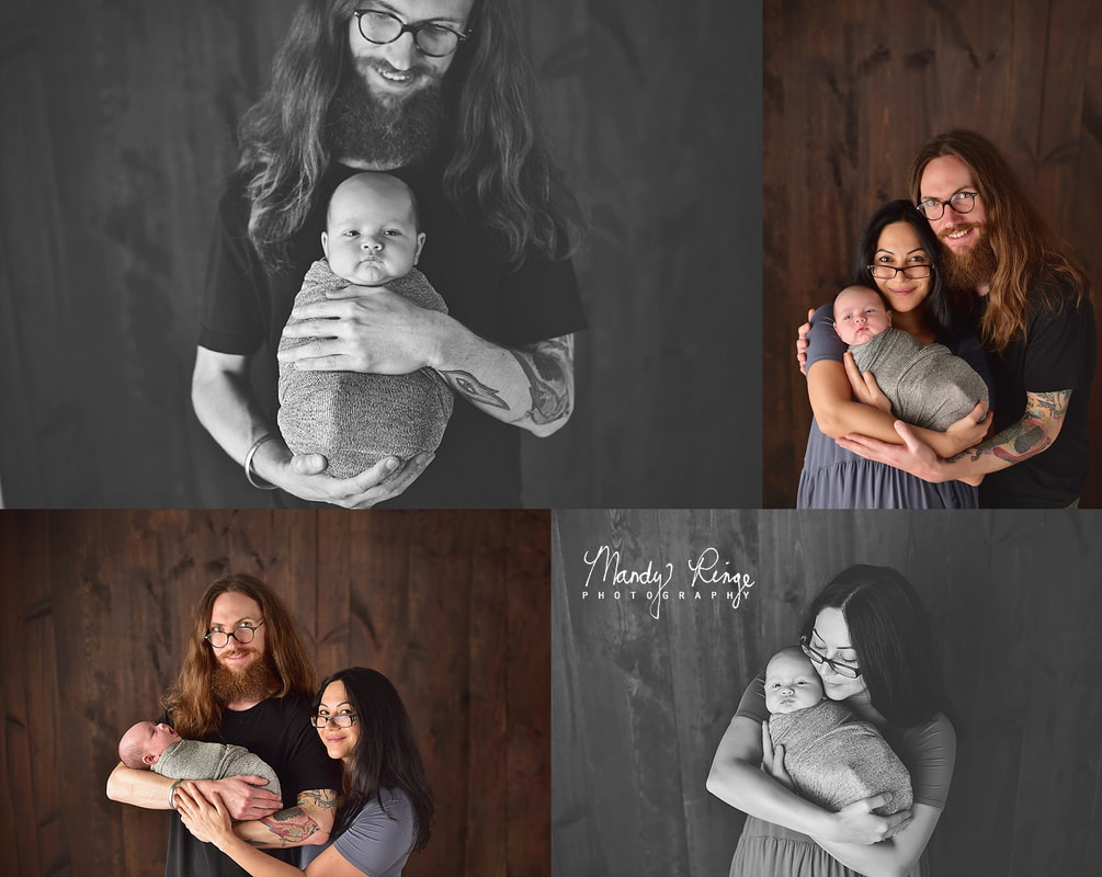 Newborn portrait session // Baby boy // St. Charles, IL Photographer // by Mandy Ringe Photography