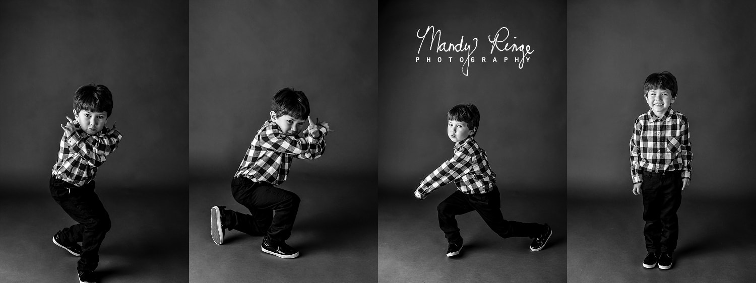 Black and white family portraits // minimal, minimalistic, simple // St. Charles, IL // by Mandy Ringe Photography