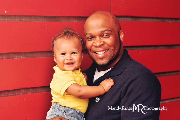 Daddy & Me mini sessions held at Peck Farm in Geneva, IL // by Mandy Ringe Photography