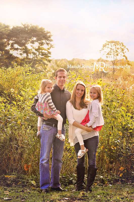 Family portraits // prairie, backlighting // Leroy Oakes Forest Preserve - St. Charles, IL // by Mandy Ringe Photography